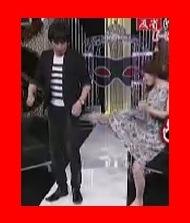武田梨奈が有吉反省会で博多大吉さんのお尻にキック