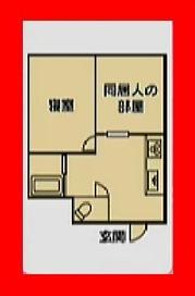 ロンハーで淳が泊まってジャッジ、横澤夏子のお部屋の間取り