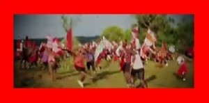 クレイジージャーニー マサイ族の男性がエウノトで走り回っているところ