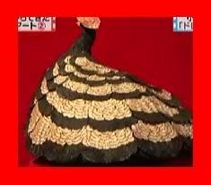 新・3大カスからできた繊細すぎるアート、小和田成美さんの鉛筆削りカスのドレス・クラック