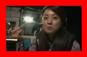 有吉反省会の禊で祥子が剣先イカを食べる美しい写真