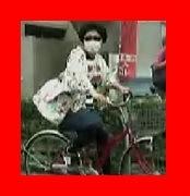ロンハーで隠し撮り、自転車に乗るオカリナ