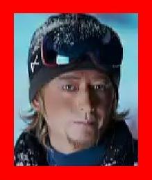 ロンハー 博多大吉の奇跡の1枚はノルウェー人のスノーボーダーみたい
