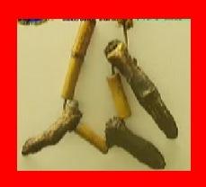 クレイジージャーニー パプアニューギニアのアンガ族が作ったフィンガーネックレス