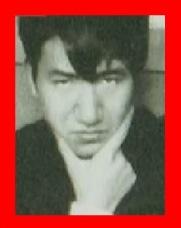 怒り新党 太宰治が芥川龍之介のポーズをマネした写真